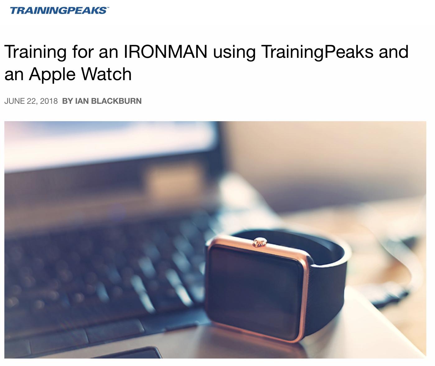 TrainingPeaksBlog