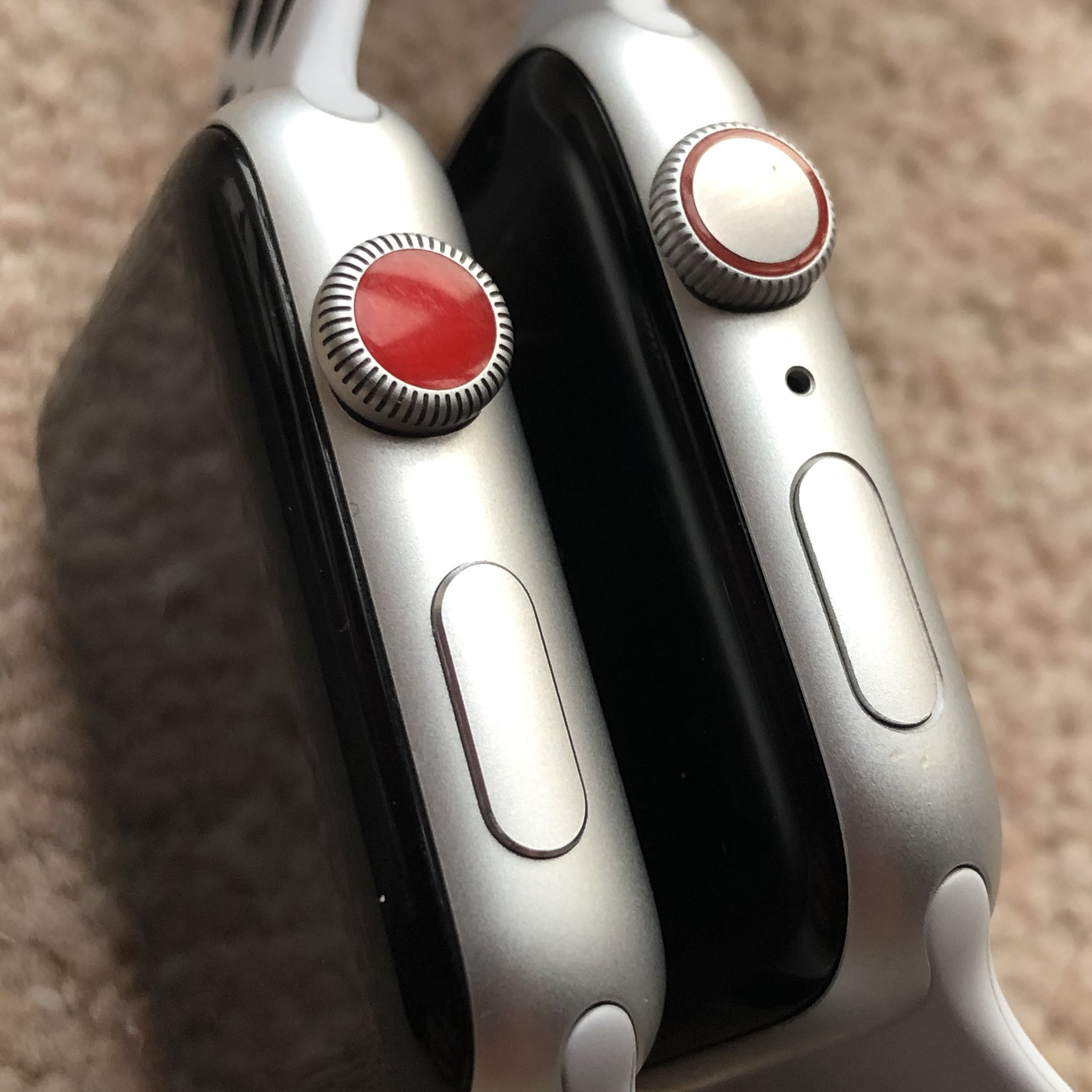 Red dot is now a red ring