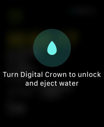 Unlocking water lock