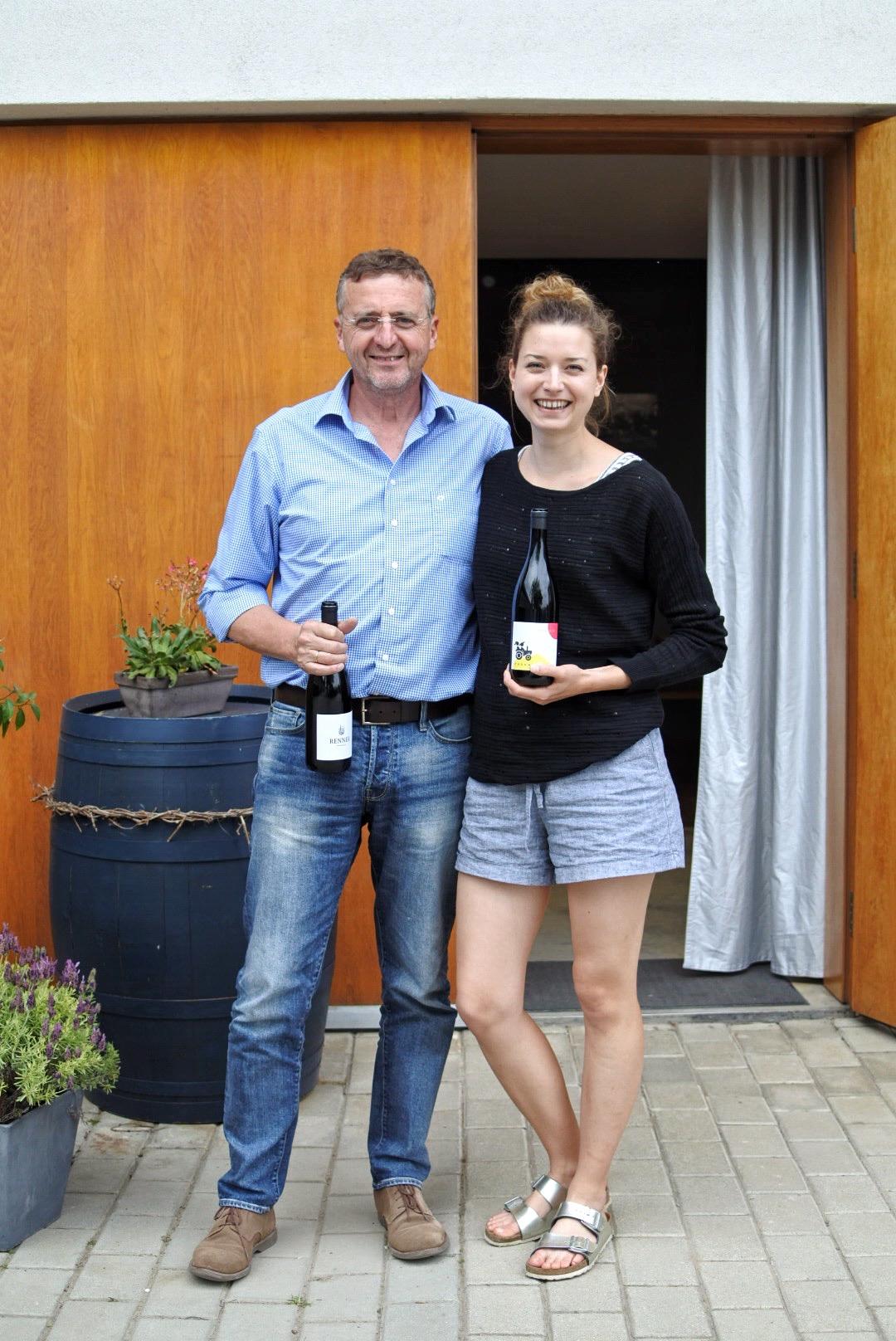 Stefanie and Helmuth Renner