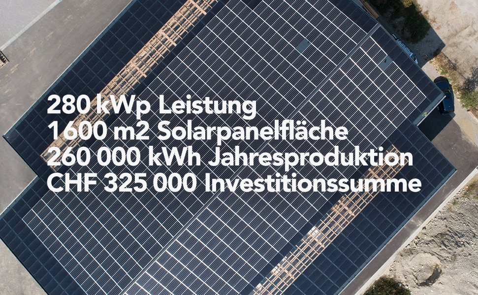 Kurz-Video OptimaSolaranlage Strausag AG, Lüsslingen; Aufnahme:  Salzmann Media