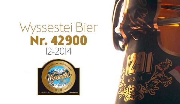Illustration für Wyssestei Bier