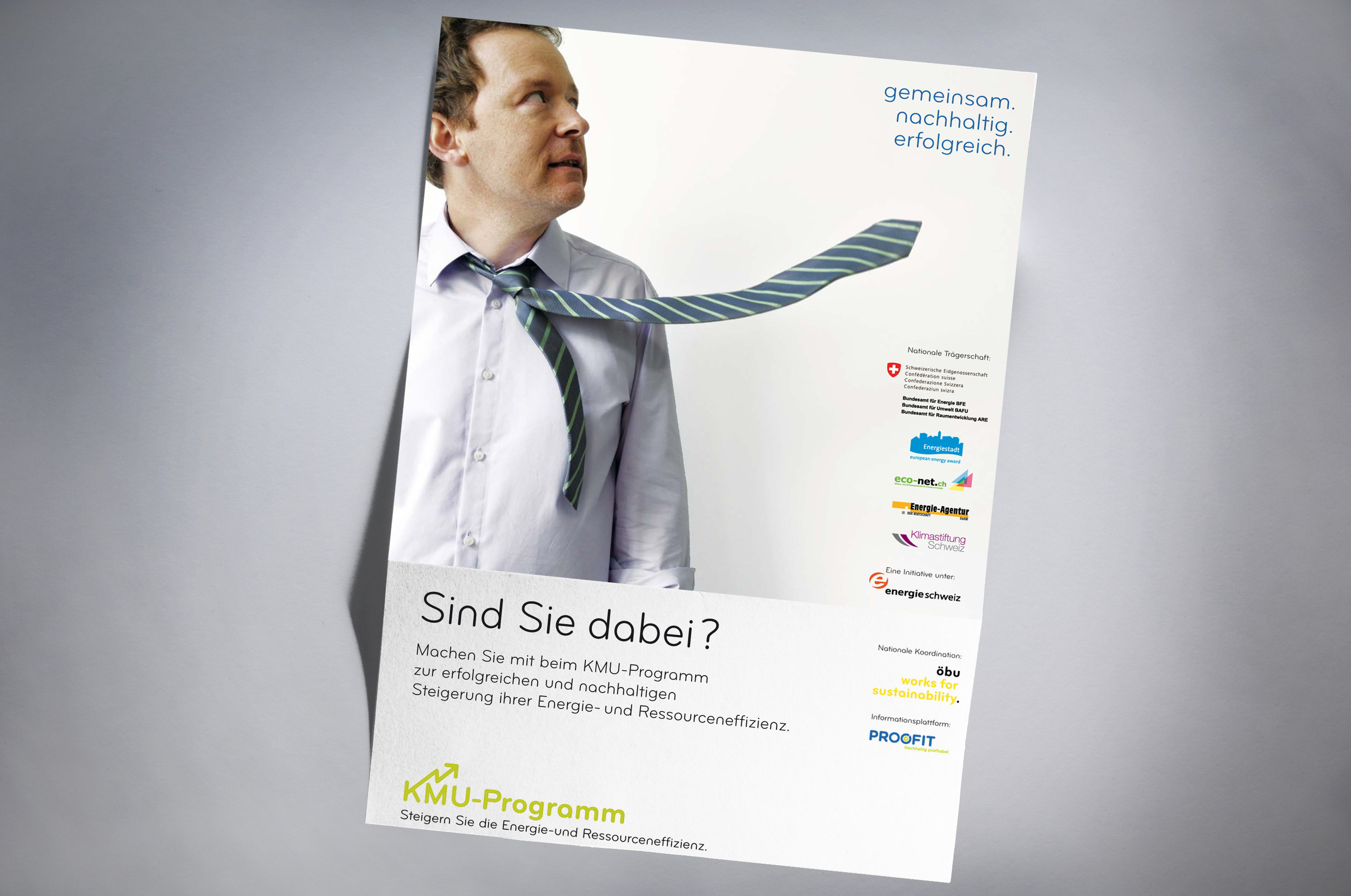 OebuKMU-Programm - Projektkoordination: Sabine Ziegler, OebuLogo Design, Gestaltung mehrsprachige Flyers:Christian Jaberg, jaberg.design