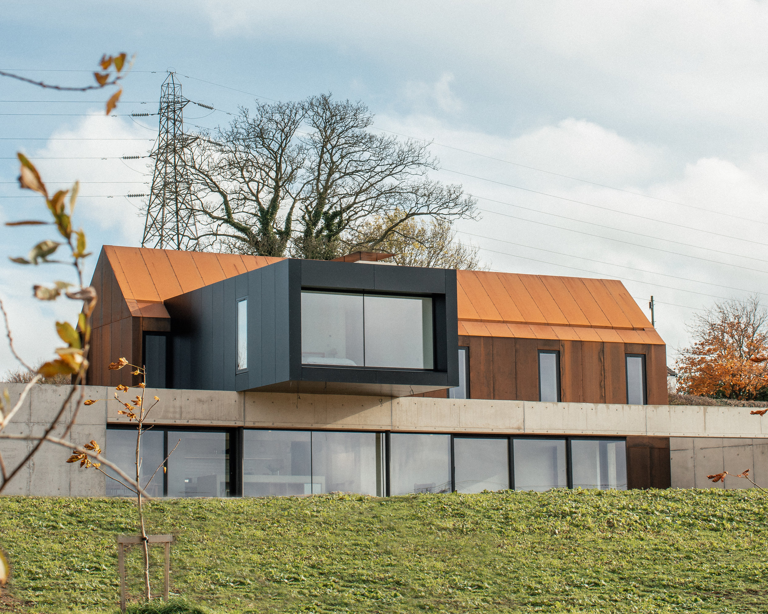 BARROW HOUSE, the lincolnshire wolds  NEW build - paragraph 55 house