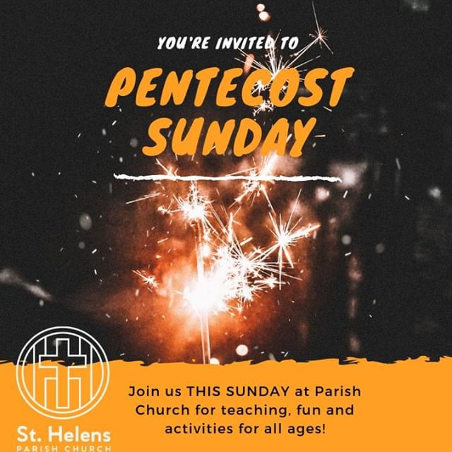 We're celebrating Pentecost this Sunday, the day when the Holy Spirit descended on the early believers in tongues of fire! We're having an all age service to celebrate, and we'd love to see you there. In Acts 2: 1-13 you can read with us about what happened to the Apostles when the Holy Spirit came - you can keep reading past there to find out even more...