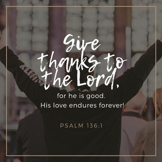 Psalm 136 encourages us to give thanks to God because he is GOOD! We are really thankful to have seen God answer prayers to improve the health of a really poorly child in our church family. They have made huge improvements recently and it's great for us to praise God for the good things he does! ⠀ .⠀ .⠀ .⠀ .⠀ .⠀ #godlovessthelens #sthelenspc #sthelens #thankfulness #givethanks #praise #worship #prayer #answeredprayer