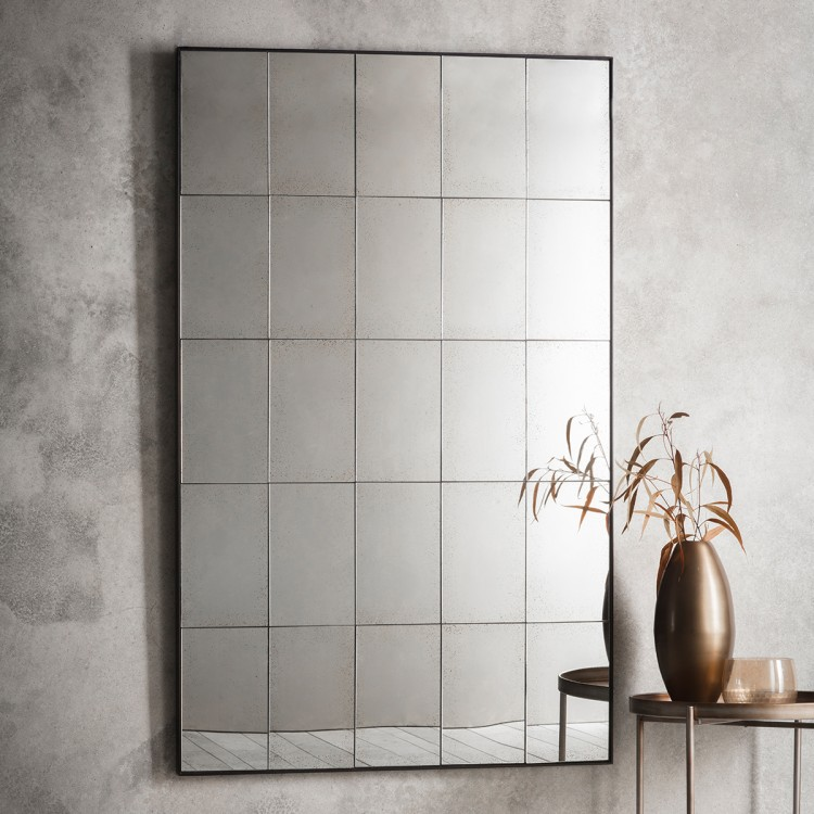 Waldorf Mirror - Sectioned MirrorW100 x D3 x H160cmRRP €990For enquiries please call us today on +353 1 4534742 or email info@interiorsatelier.ie