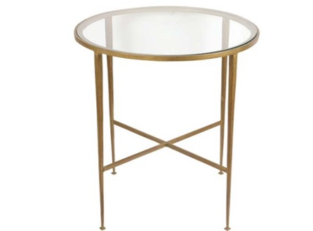 Shelbourne Table - Dia 63cmRRP €750For enquiries please call us today on +353 1 4534742 or email info@interiorsatelier.ie