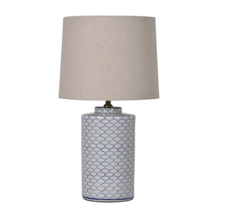Poppy Lamp - H66cmRRP €160For enquiries please call us today on +353 1 4534742 or email info@interiorsatelier.ie