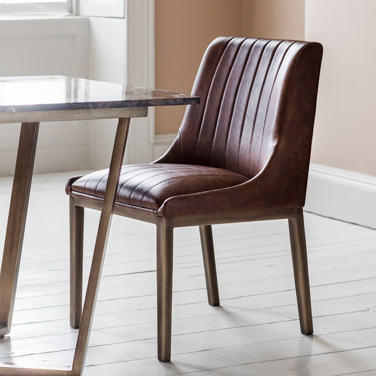 Bill Dining Chair - RRP per chair €420Please note these are sold in pairsFor enquiries please call us today on +353 1 4534742 or email info@interiorsatelier.ie