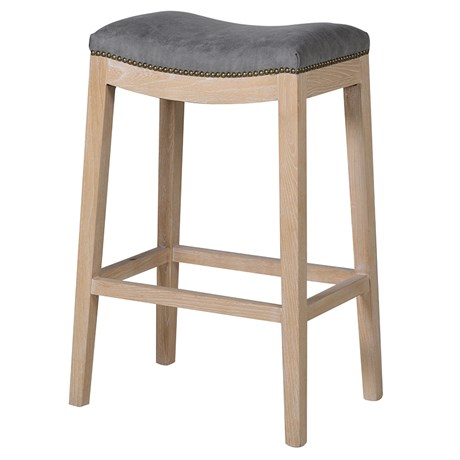 Franklin Bar Stool - W46 x D31 x H77cmRRP €230For enquiries please call us today on +353 1 2948020 or email info@interiorsatelier.ie