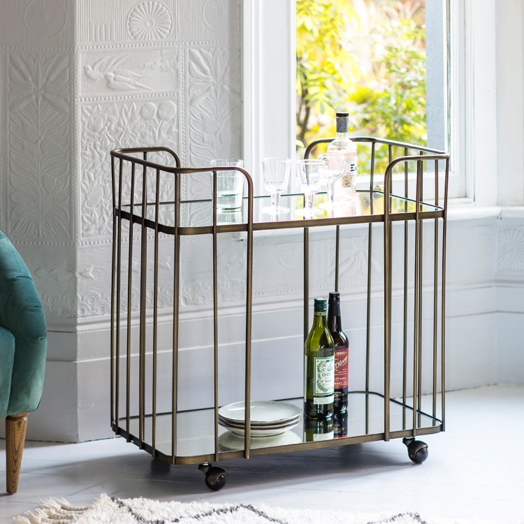 Bar Cart - W75 x D46 x H800RRP €875For enquiries please call us today on +353 1 4534742 or email info@interiorsatelier.ie