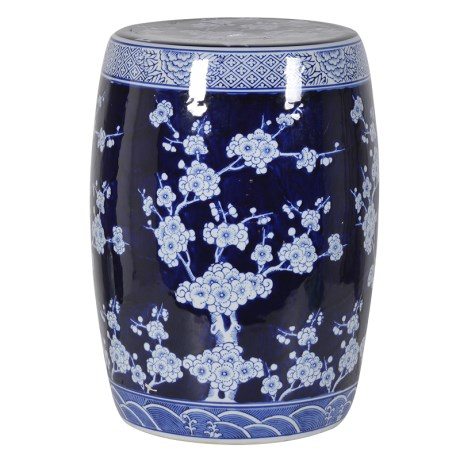 Oriental style stool - H54 x Dia32RRP €190For enquiries please call us today on +353 1 4534742 or email info@interiorsatelier.ie