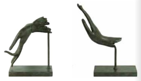 Brass Bookends - RRP €1400For enquiries please call us today on +353 1 4534742 or email info@interiorsatelier.ie