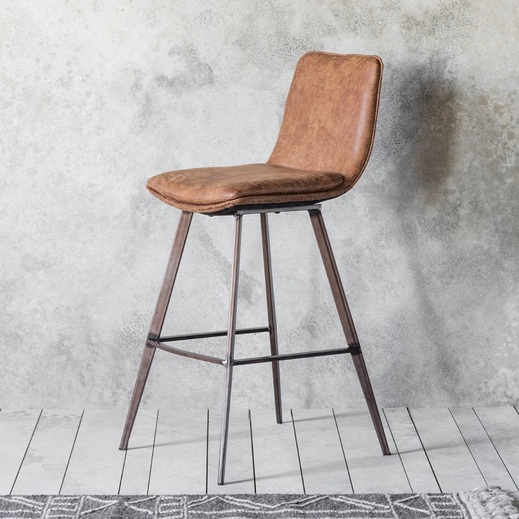 Morgan Bar Stool - RRP per stool €370Please not sold in pairsFor enquiries please call us today on +353 1 2948020 or email info@interiorsatelier.ie