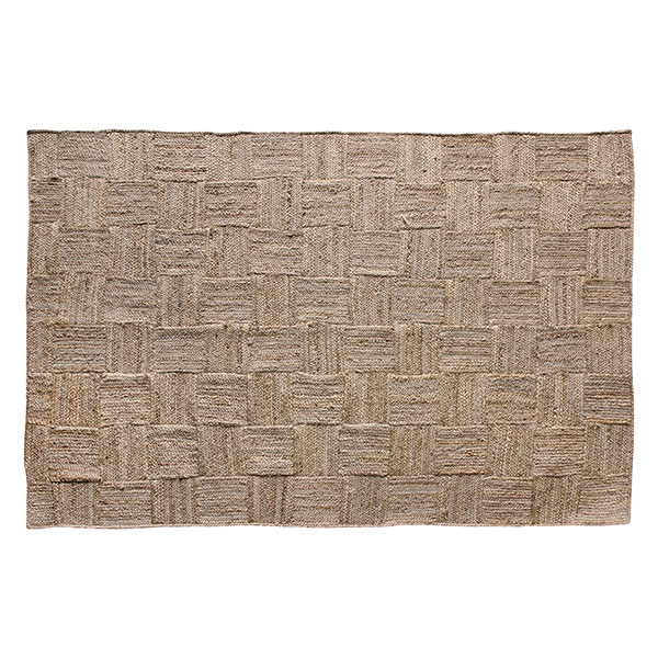 Jute Patchwork Rug - 180x 280cmRRP €320For enquiries please call us today on +353 1 4534742 or email info@interiorsatelier.ie