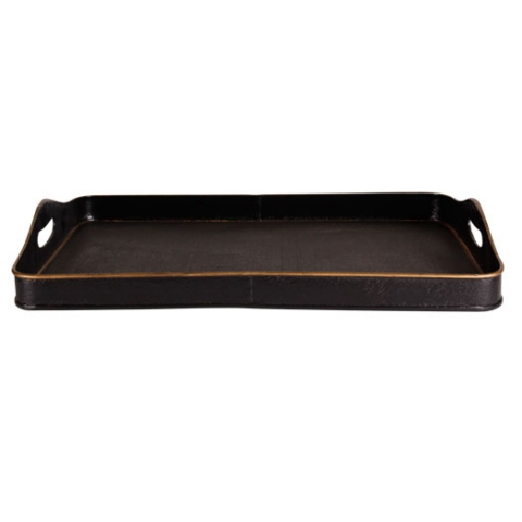 Black Tray - For enquiries please call us today on +353 1 4534742 or email info@interiorsatelier.ie