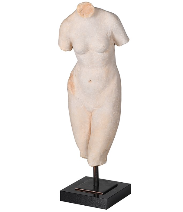 Female Torso - H:380 W:120 D:100RRP €65For enquiries please call us today on +353 1 4534742 or email info@interiorsatelier.ie