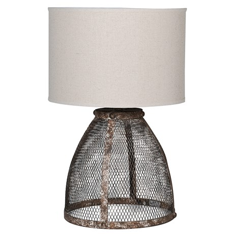 Max Lamp - Antique rustic look mesh lampRRP €460For enquiries please call us today on +353 1 4534742 or email info@interiorsatelier.ie