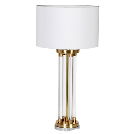 Silvia Lamp - Brass & acrylic rod table lampRRP €470For enquiries please call us today on +353 1 4534742 or email info@interiorsatelier.ie