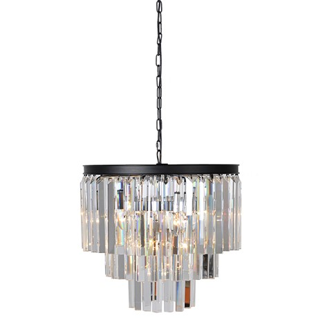 Gatsby Pendant - 3 Tier glass strip chandelierRRP €950For enquiries please call us today on +353 1 4534742 or email info@interiorsatelier.ie