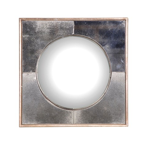 Luna Mirror - Square framed round mirrorH400 xW400mmRRP €180For enquiries please call us today on +353 1 4534742 or email info@interiorsatelier.ie