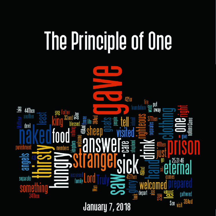 The Principle of One -