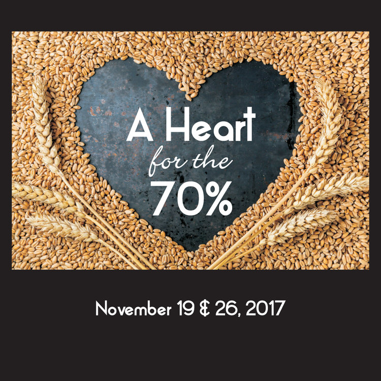 A Heart for the 70% -
