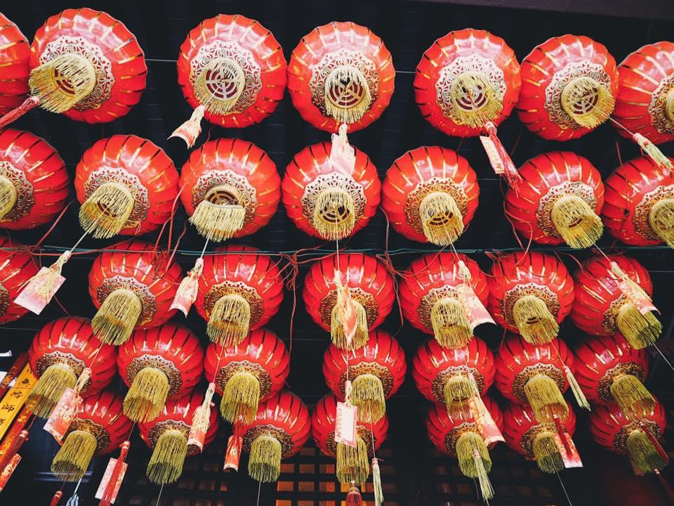 Chinese lanterns photo by @gatherthyme