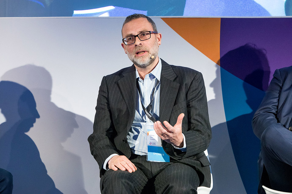 Adrian Black, CEO at NorthRow, on a Panel 'The Collaborative Economy: Who Do You Trust?   at IFGS 2018