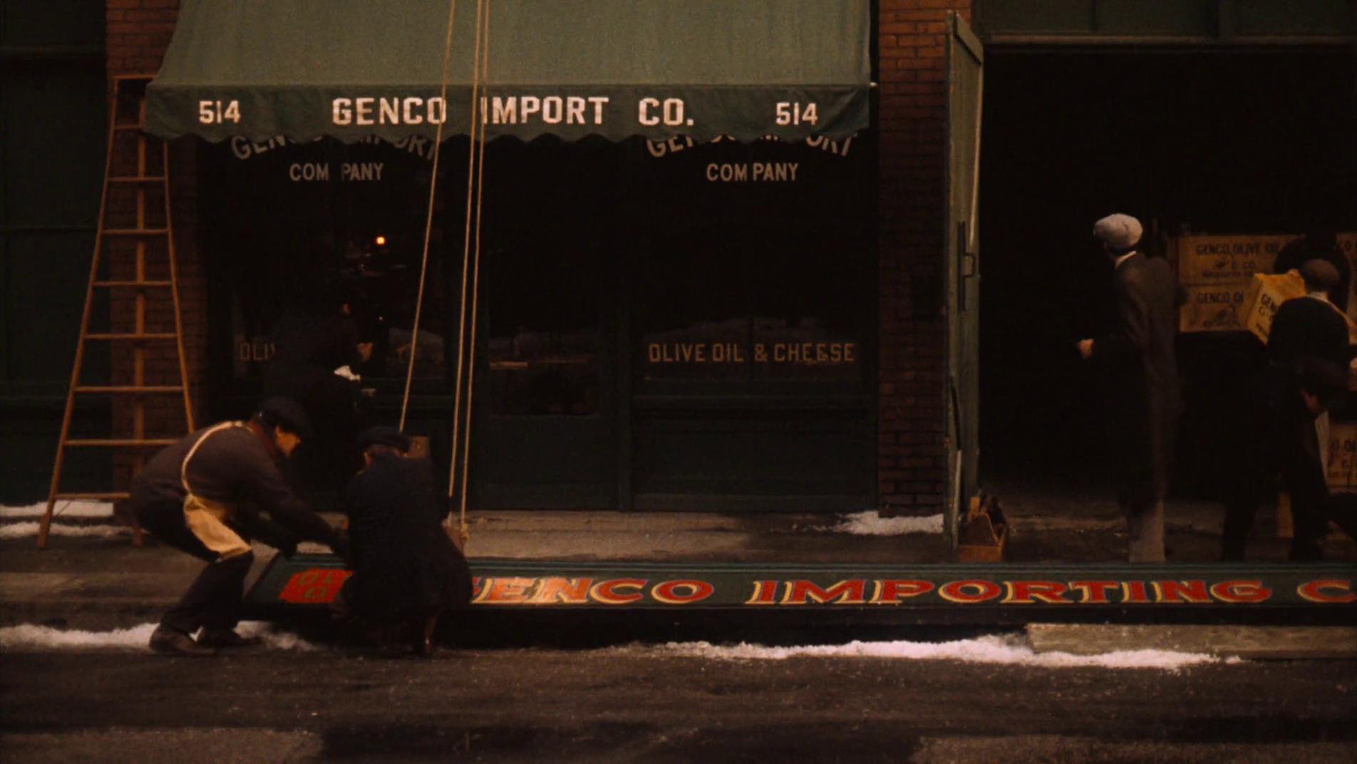 Genco Pura Olive Oil Company was a front company formed by Vito Corleone in the 1920s