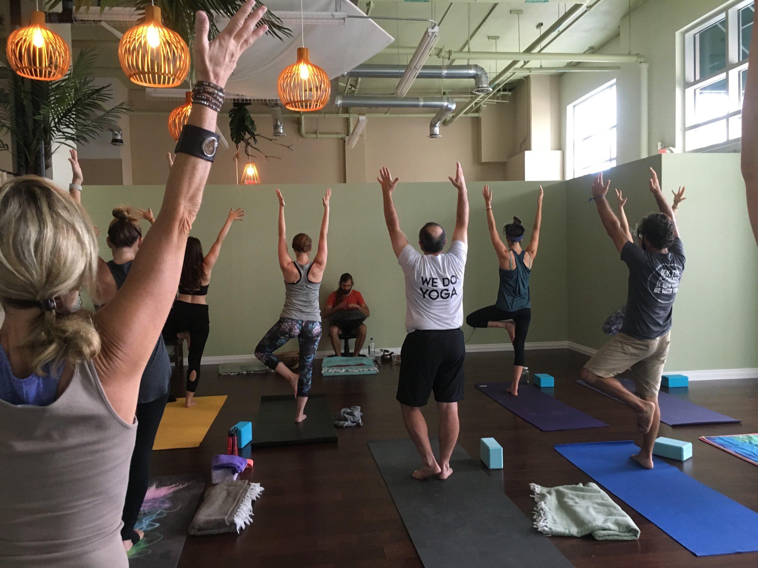 - Yoga and Yoga Teacher Trainings