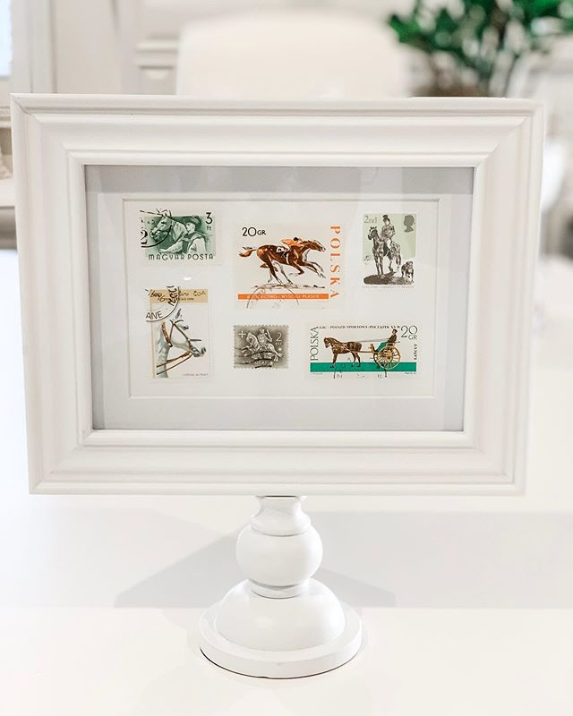 New office addition!!! #horses #equinestyle #equestriandecor #officedecor #stampcollection