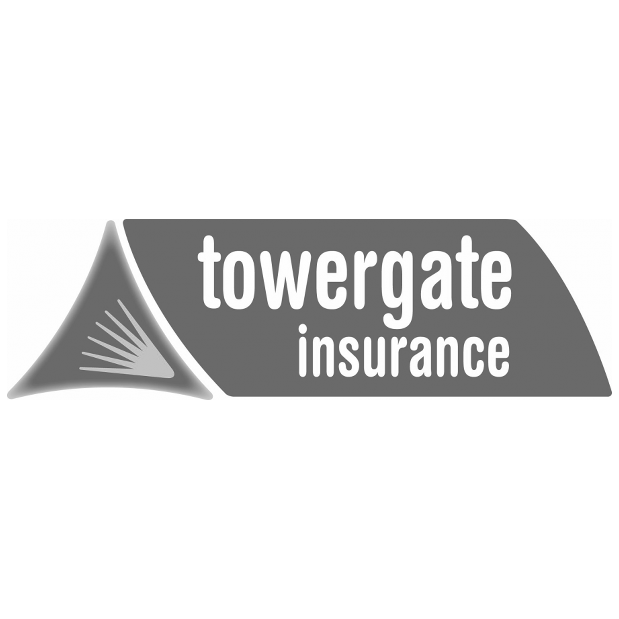 Towergate insurance black and white.png