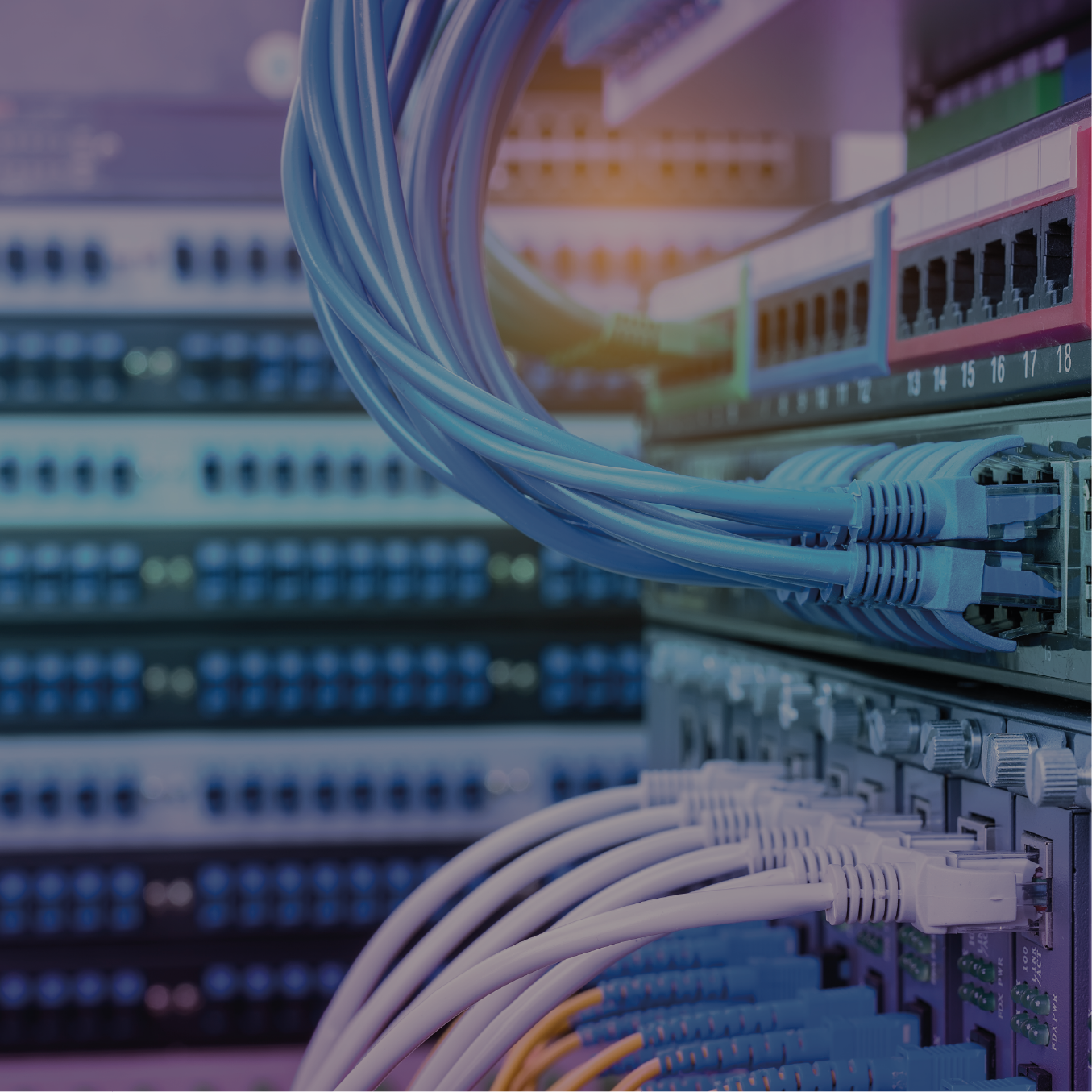Fibre and cabling - With more than 20 years' experience designing, building and managing data centres, we are ideally positioned to provide data centre and server room structured cabling solutions and services for our customersFIND OUT MORE...