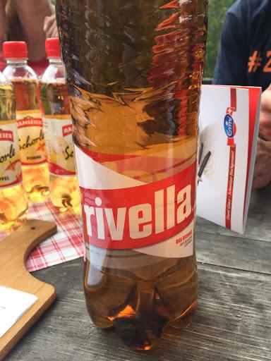 Swiss fizz made from milk whey. Delish.