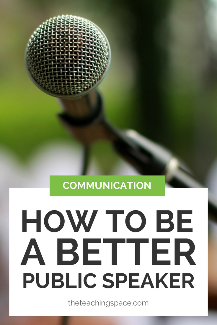 How to be a Better Public Speaker