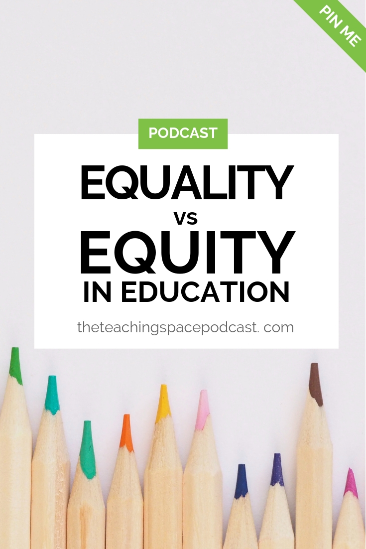 Equality Versus Equity in Education