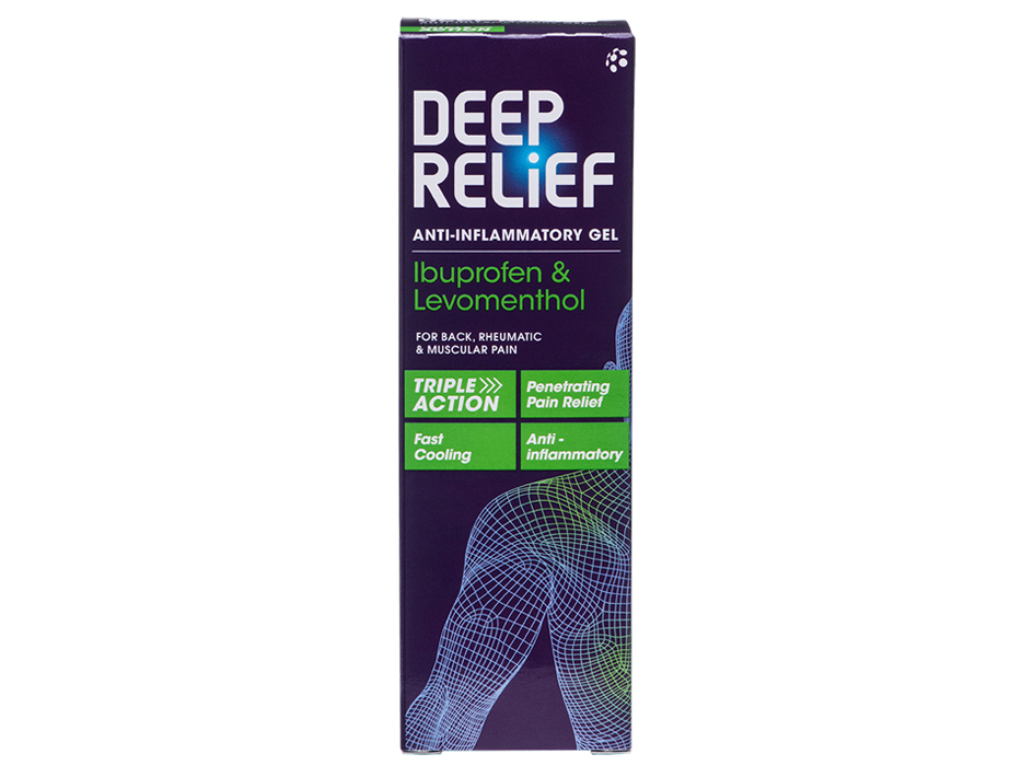 Deep Relief Pain Relief Gel ▶