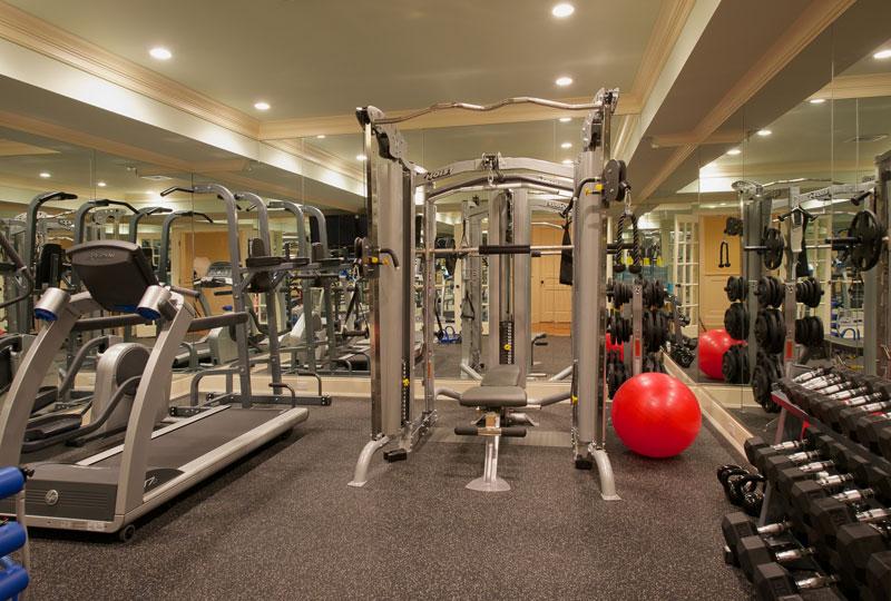 Exercise, Sports + Spas -