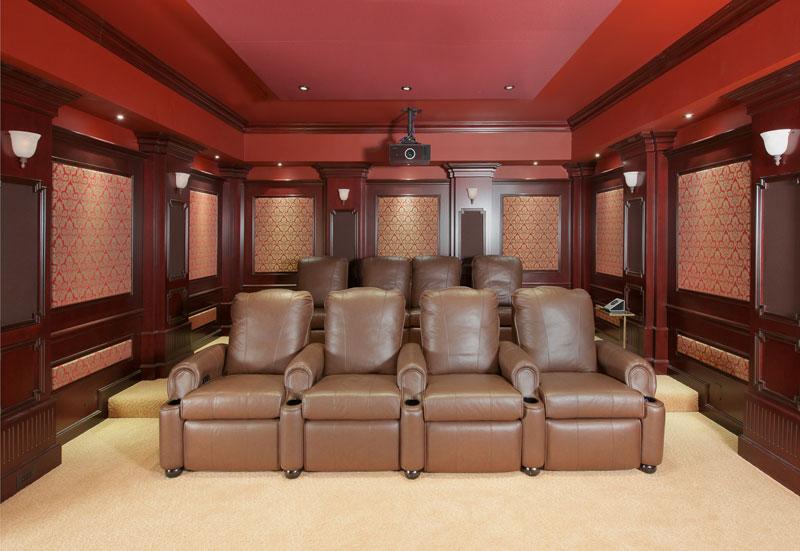 Bespoke home theatre