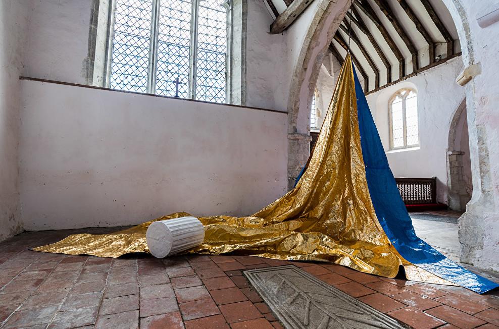 'Salt- Gold – Marsh' by Sarah Davis