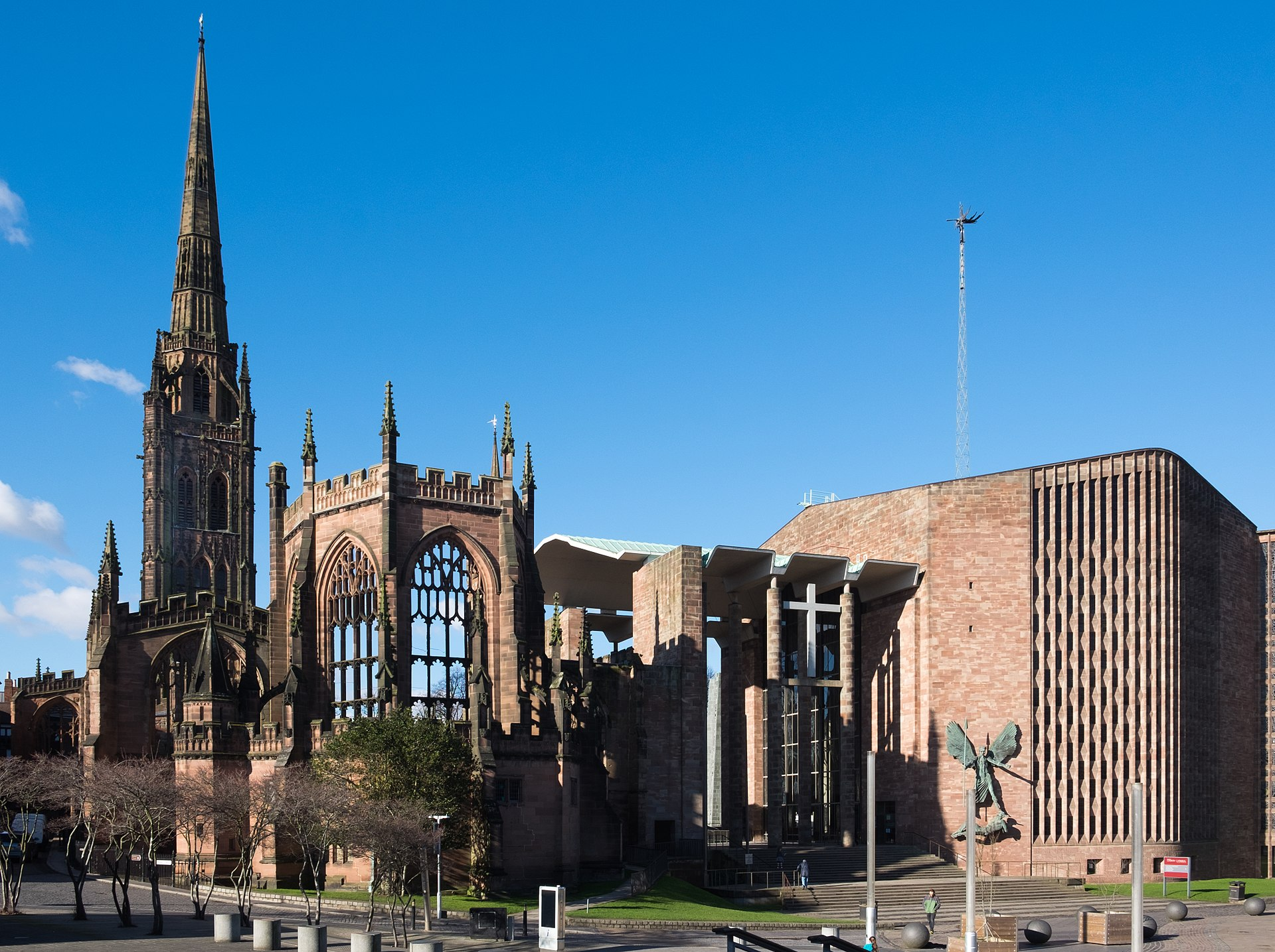 Coventry Cathedral Exterior View