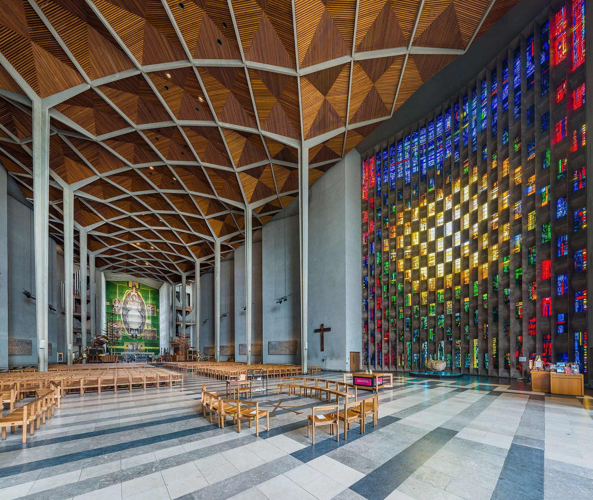 Coventry Cathedral Interior View