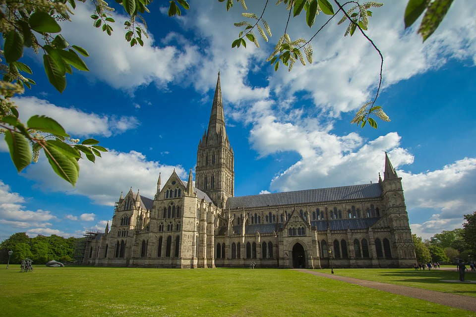 Salisbury Cathedral Exterior View