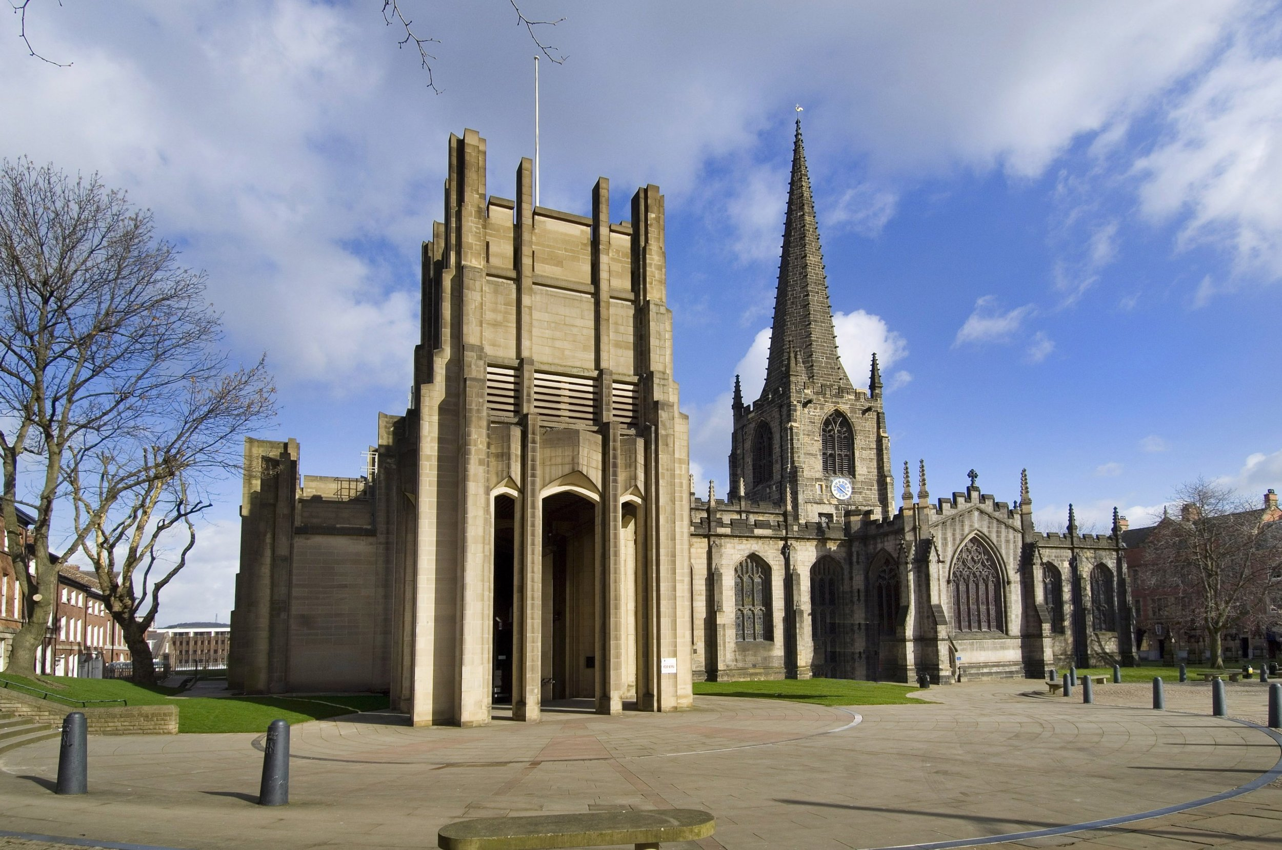 Sheffield Cathedral Exterior View