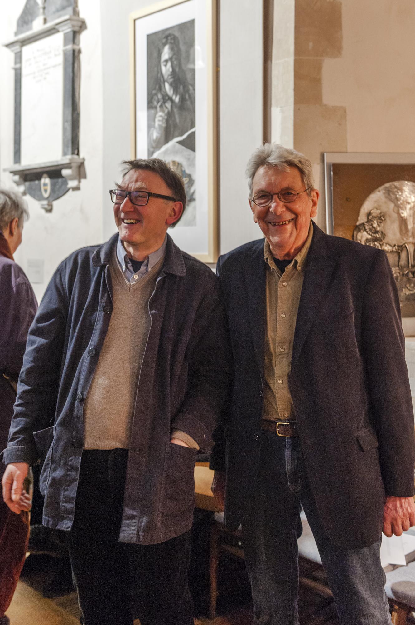 Charles MacCarthy and David Hiam
