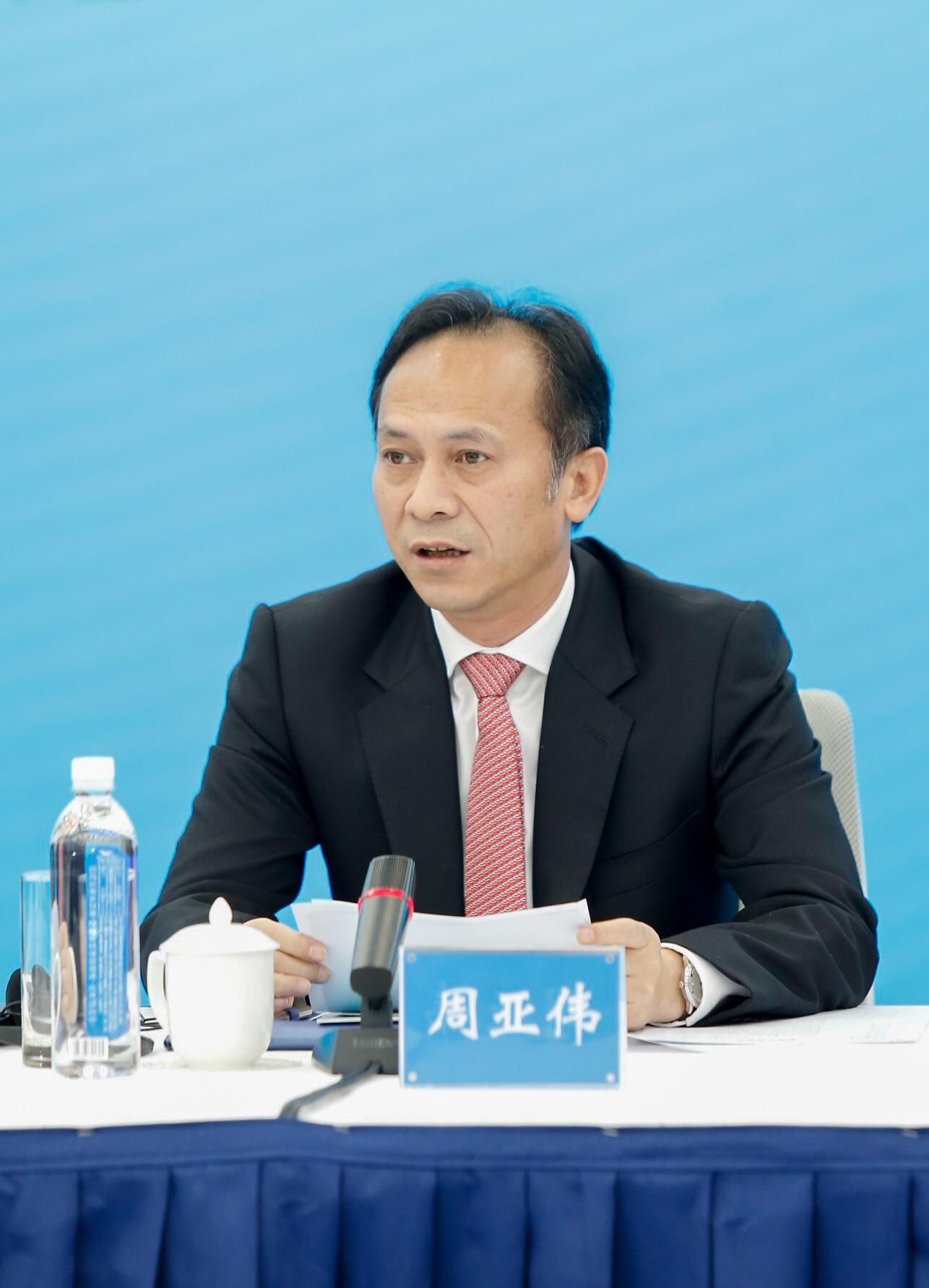 Mr. Yawei Zhou, Party Secretary of Huangpu District, GDD