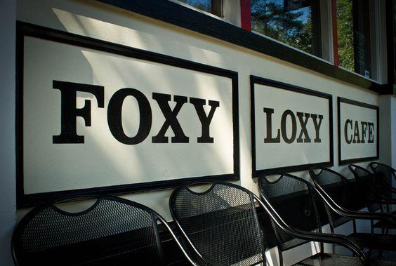 Foxy Loxy Cafe facade