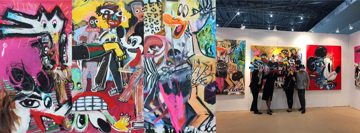 Shanghai Art Fair 2017 World expo exhibition